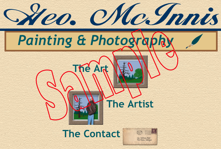 sample photo & painting site